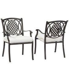 outdoor metal chair. Belcourt Custom Metal Outdoor Dining Chair