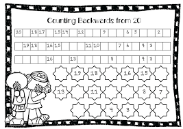 Counting Backward Worksheets Collection Of Missing Numbers ...
