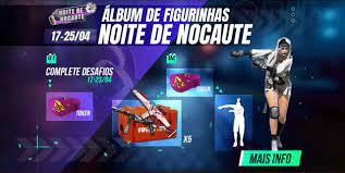 CODIGUIN FIGURINHAS DE LUVAS - NOITE DE NOCAUTE FREE FIRE - Mania Free Fire