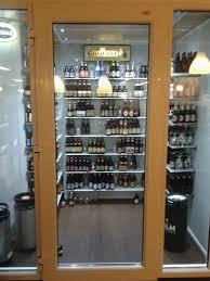 domestic wine cellars reach walk in fridges and freezers domestic glass door