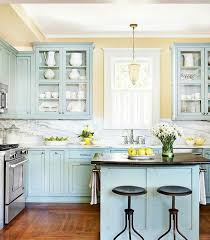 Couleur Peinture Cuisine Jaune Peinture Meuble Cuisine Bleue