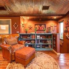 corrugated metal ceiling southwest style design ideas pictures remodel and decor corrugated metal corrugated tin ceiling corrugated metal ceiling