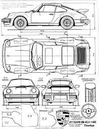 1986 porsche 911 930 turbo smcars car blueprints