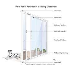 medium size of sliding pet door for sliding glass door fast fit patio pet door