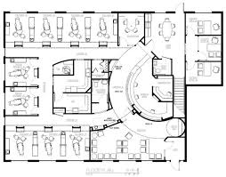 floor plan of the office. Office Floor Plan With Dental Design Plans | Nine Chair Of The R