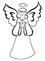 Free Angel Coloring Pages Letscoloringpagescom Angel Free