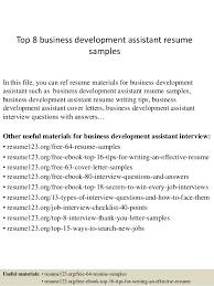 Cover Letter Business Development Associate Assistant Enom Warb Co