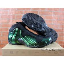 Jordan Shoes With Lights Nike Air Flightposite One Northern Lights Black Green Glow Shoes Best