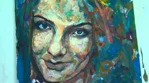 painting a portrait with acrylic paint by gordon berger sd painting