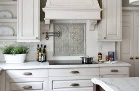 White Cabinets And Backsplash