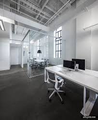 blue white office space. blue communication office by jean guy chabauty anne sophie goneau montreal design blue white space
