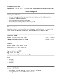Aeronautical Engineer Sample Resume   Top   Samples In This File