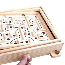 wooden ball maze free classic interactive wooden maze toy gift kids exploring ability developing