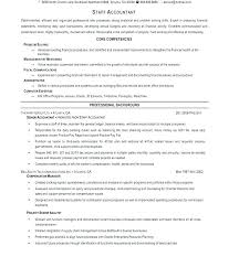 Staff Accountant Resume Example Accounting Job Resume Entry Level
