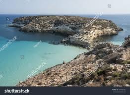 Europe Italy Sicily Lampedusa Rabbit Island Stock Photo Edit Now
