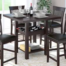 wine rack dining table. Beautiful Dining CorLiving Bistro 36 And Wine Rack Dining Table U