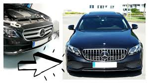 Replacing old Mercedes W213 Avangard Front <b>grill</b> with ...