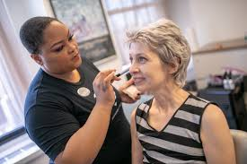 on wednesday may 2 four makeup artists from sephora s herald square visited cancercare s national office to offer plementary consultations to