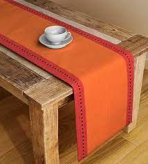 solid color orange cotton 45x13