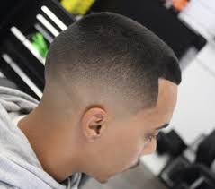 thick hair sharp fade