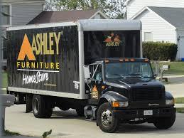 Ashley Furniture HomeStore International 4700 delivery tru…
