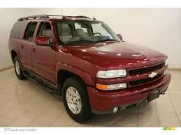 2005 Sport Red Metallic Chevrolet Suburban 1500 Z71 4x4 #18172104 ...