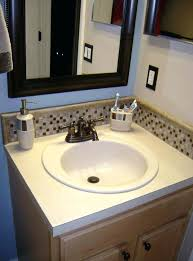Backsplash Bathroom Ideas Delectable Sheen Bathroom Sink Backsplash Bathroom Sink Home Design Amp