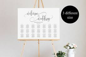 Wedding Seating Chart Template Welcome Wedding Seating Chart