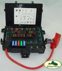 land rover fuse box relay fusebox range 97 99 p38 amr6476 oem p38 fuse box diagram land rover fuse box