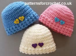 Crochet Preemie Hat Pattern Simple Free Baby Crochet Pattern Preemie Beanie Hat Usa