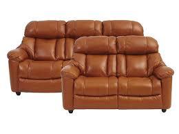 3 Sitzer Sofa Meriko In Cognac Couchgarnitur Wohnlandschaft