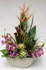 Artificial Silk Flower Arrangements Artificial Trees  RTfact Artificial Flower Decoration For Home