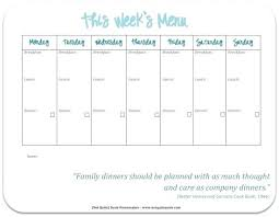 family menu template weekly menu template 7 free word documents download healthy family