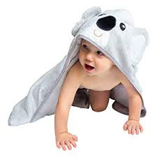 Amazon.com : Hooded Baby Bath Towel - Cute, Large, Plush, Ultra ...