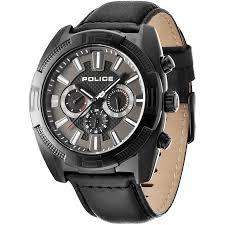 "men s police revolt chronograph watch 13938jsb 61 watch shop comâ""¢ mens police revolt chronograph watch 13938jsb 61"