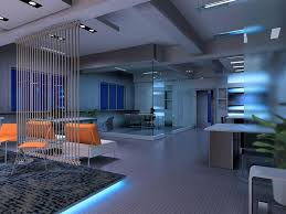 office modern. Consider A Modern #office Design With Advanced Lighting Features. (Via Climatesys.com Office