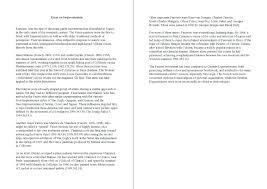 Mla Format Sample Essay Example Of College Essay Format