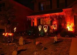halloween lighting ideas. Red Christmas Lights Ideas For Halloween Lighting