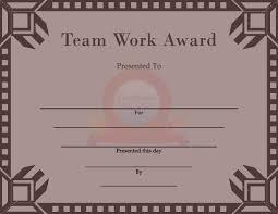 Teamwork Certificate Templates Team Work Certificate Team Work Certificate Templates Pinterest