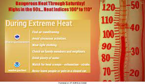 Excessive Heat Warning Through Saturday ...
