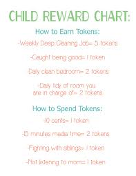 Token Reward System Chart Child Reward System Using Puzzle Pieces Tips From A