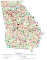 georgia map  online maps of georgia state