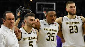 Notre Dame Basketball Depth Chart Notre Dame Starts The Acc Tournament With A Must Win