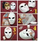 Декорирование масок своими руками
