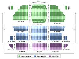 St James Theater Seating Chart Frozen Broadways Tickets Mezzanine Seat Area