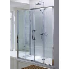 incomparable double sliding door lakes classic semi frameless double sliding shower door uk bathrooms