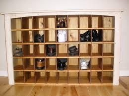 diy shoe closet storage