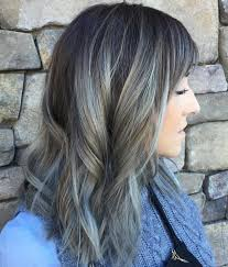 Subtle Blue Highlights Gorgeous Grey Hair Trend Colors You Should Consider Popular Haircuts