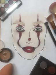 make you a makeup facechart