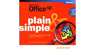 Brown Microsoft Office Microsoft Office Xp Plain Simple How To Do Everything Carol